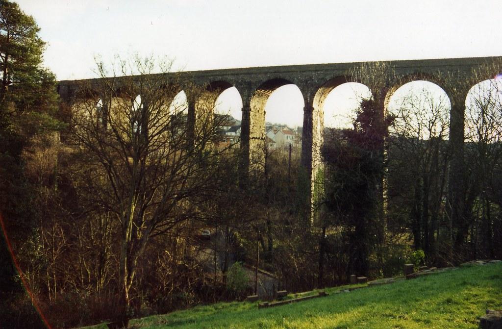 Maesycwmmer Viaduct